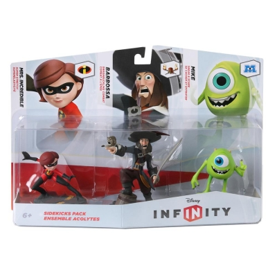 Disney Infinity - Pack de 3 Personagens - Coadjuvantes