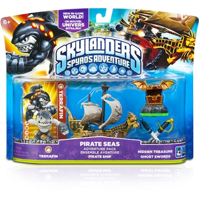 Skylanders Sa Pirate Seas Adventure Pack 1 - Wii/PC/PS3/3DS e Xbox360
