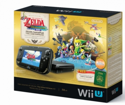 Nintendo Wii U - The Legend of Zelda The Wind Waker Deluxe Set
