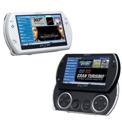 PSP Go (Black / White) 16GB