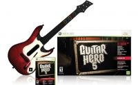 GUITARRA GUITAR HERO 5 XBOX360