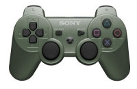 CONTROLE PS3 ORIGINAL JUNGLE GREEN